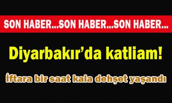 Diyarbakır'da katliam!