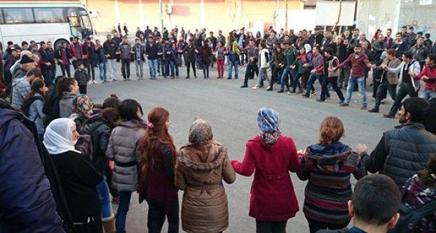 Diyarbakır'da Kobani kutlaması..