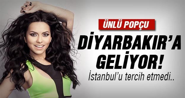Diyarbakır'da konser verecek!