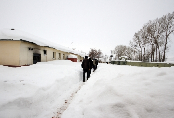 Doğu'da Sibirya soğukları hakim