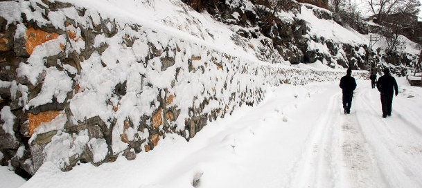 Doğu'da ve Batı'da kar yağışı etkili