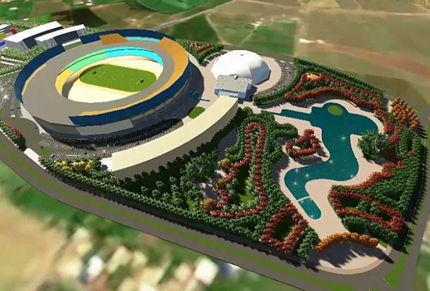 ''Doğu'nun incisi''ne yeni stadyum
