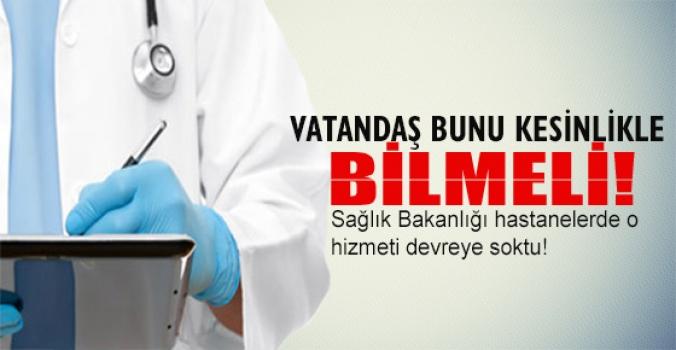 Doktora giden her vatandaş bunu bilmeli!