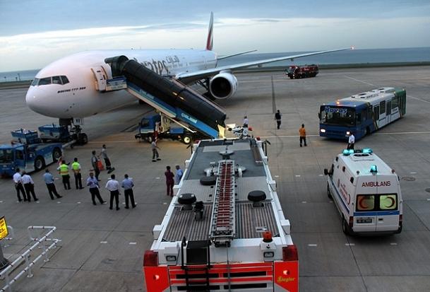 Dubai uçağı Trabzon Havalimanı'na zorunlu iniş yaptı