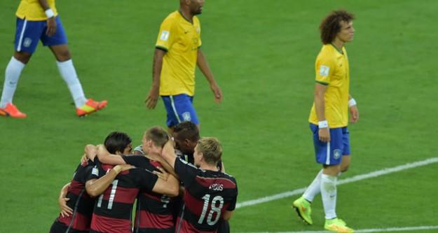 Dünya basının gündemi Brezilya-Almanya maçı oldu