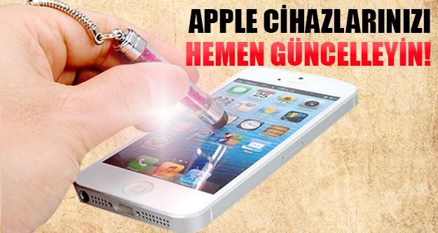 Dünya devi Apple güvenlik açığı oluşturdu!