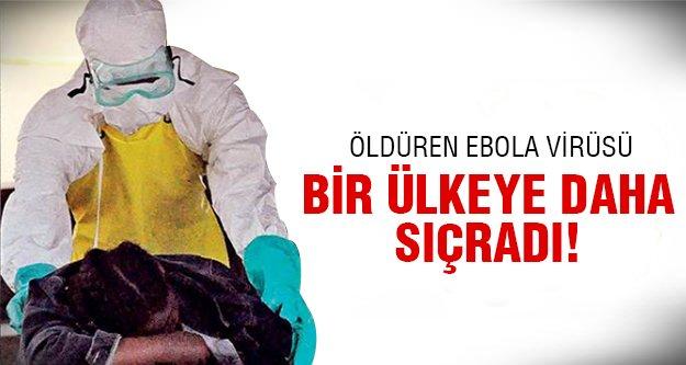 Ebola vakasına rastlandı!