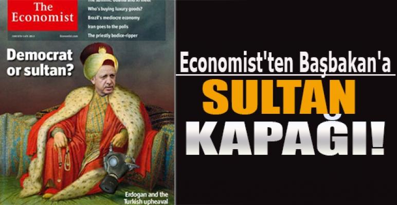 "Economist'ten Başbakan'a ""Sultan"" kapağı"