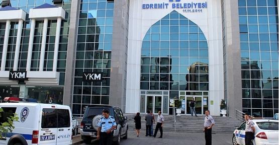 Edremit Belediye Başkanı tutuklandı
