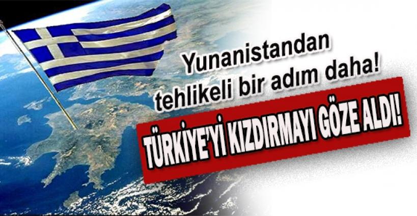 Ege'de Türkiye ile Yunanistan'ın arasındaki gerginliği artıracak yeni bir adım daha atılıyor.