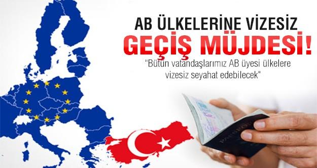 Egemen Bağış'tan AB ülkelerine vizesiz giriş müjdesi