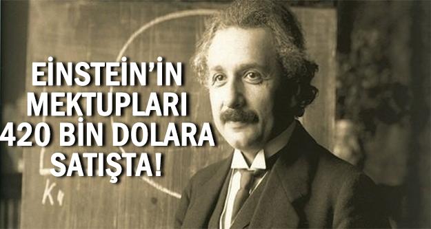 Einstein'in mektupları satılıyor!
