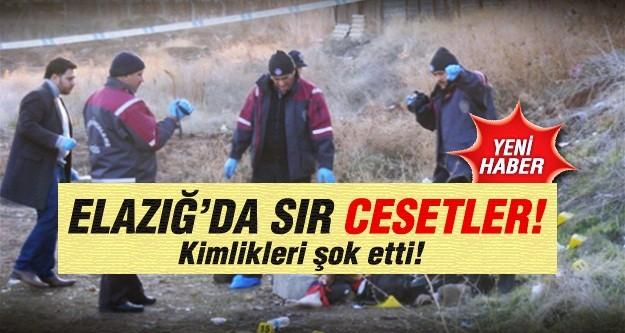 Elazığ'da 3 sır ceset bulundu!