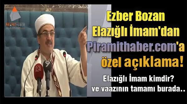 Elazığlı İmam'dan Ezber Bozan Cuma Vaazı! - Full İzle