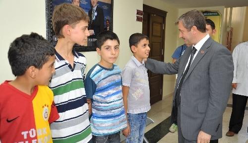 Elbeyliler Derneği üyeleri Şahinbey'de belediye hizmetlerini inceledi