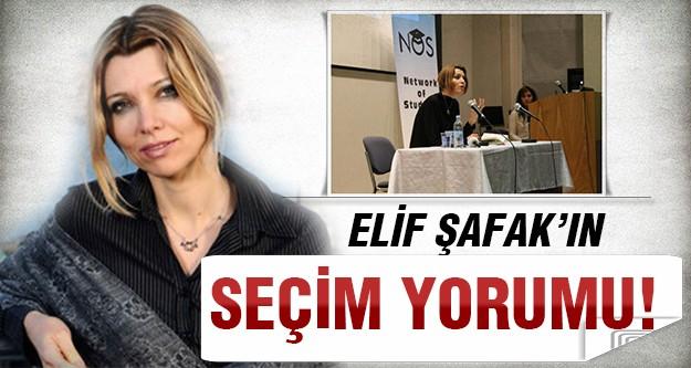 Elif Şafak'tan seçime farklı bir yorum!