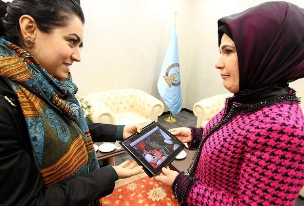 Emine Erdoğan da oylamaya katıldı