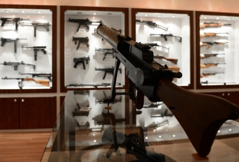 Emniyetin tarihi silah koleksiyonu