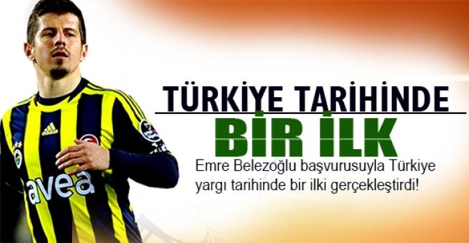 Emre, Türk yargı tarihinde bir ilki yaptı