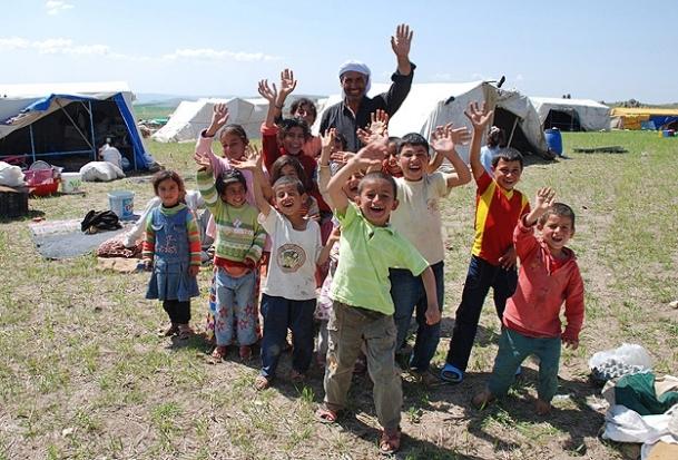 En kalabalık aile Şırnak'ta