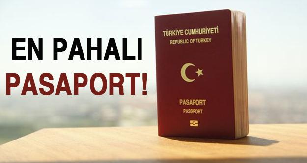 En pahalı pasaport!