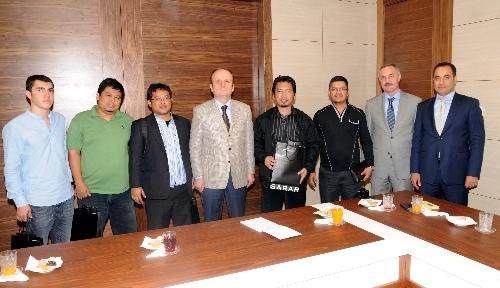 Endonezyalı milletvekilleri Genel Müdür Baykan'ı ziyaret etti