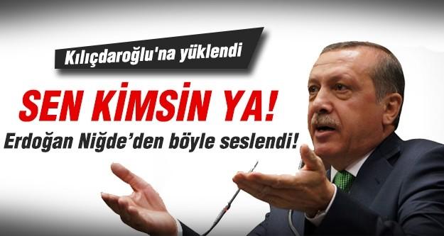 Erdoğan Niğde'de konuştu...