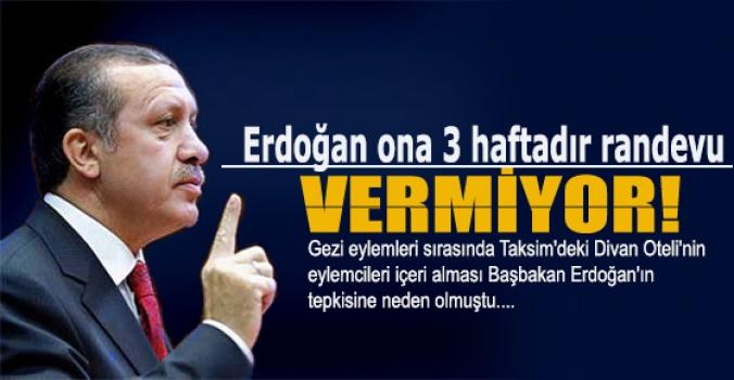 Erdoğan ona 3 haftadır randevu vermiyor