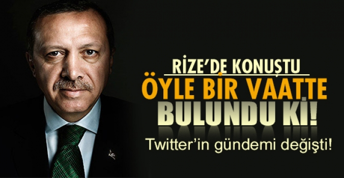 Erdoğan öyle bir vaat verdi ki gündem değişti!
