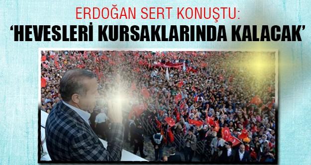 Erdoğan Sivas mitinginde sert konuştu!
