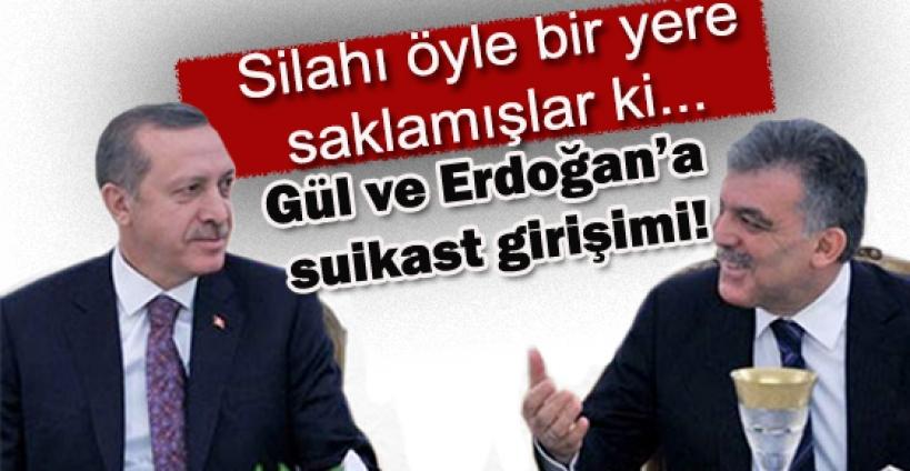 Erdoğan ve Gül için şok suikast açıklaması!