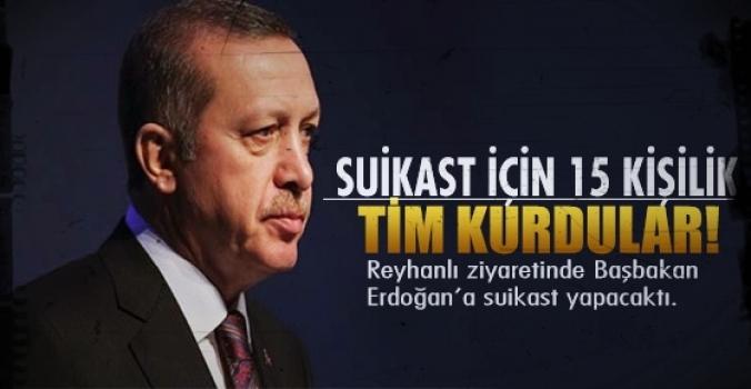 Erdoğan'a 15 kişilik suikast timi...