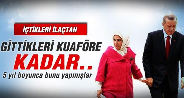Erdoğan'a 5 yıl boyunca bunu yapmışlar