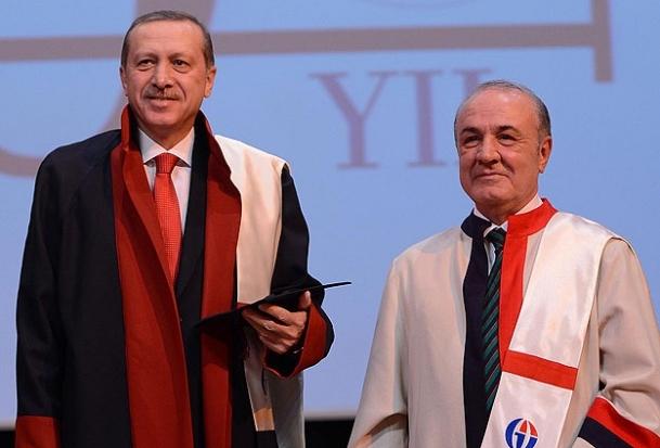 Erdoğan'a fahri doktora unvanı