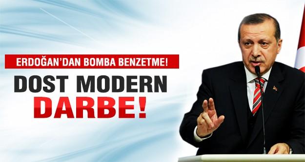 Erdoğan'dan 17 Aralık'a bomba benzetme