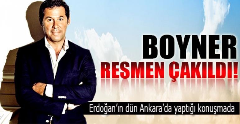 Erdoğan'dan Boyner'e ağır darbe