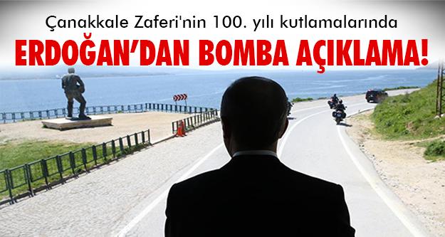 Erdoğan'dan çarpıcı mesajlar..