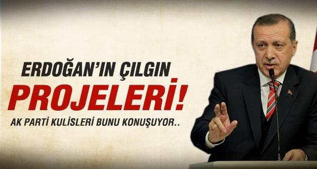 Erdoğan'dan çılgın projeler..