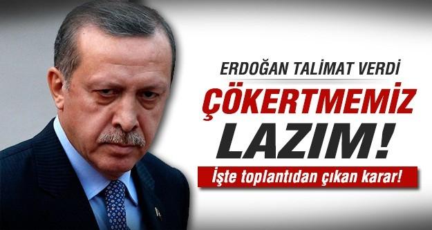 Erdoğan'dan olağanüstü toplantı....