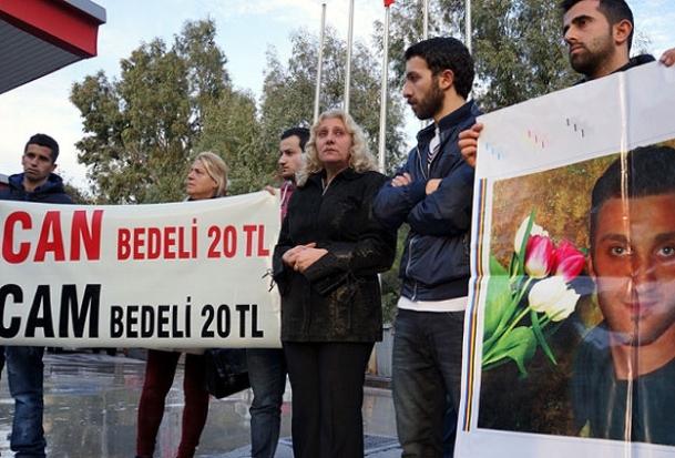 Ermeni gencin ölümüyle ilgili gösteri