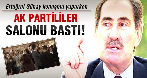 Ertuğrul Günay'a Ak Parti baskını!