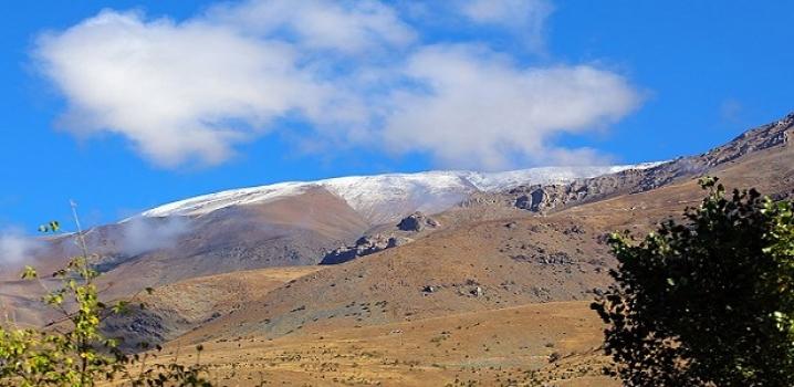 Erzincan'a mevsimin ilk karı yağdı !