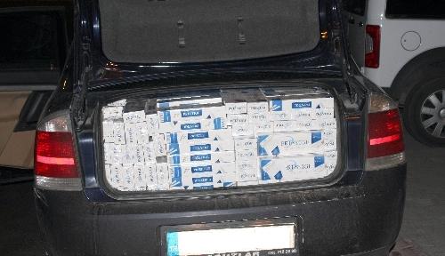 Erzincan'da 25 bin 190 paket kaçak sigara yakalandı