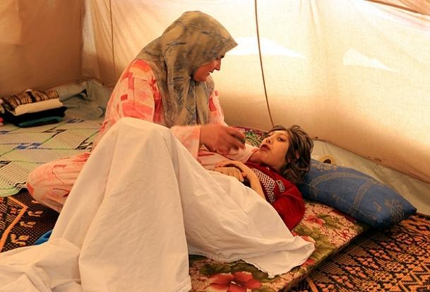 Esed'in bombalarından kaçtı kansere yakalandı