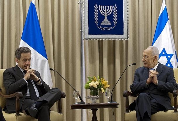 Eski Fransa Cumhurbaşkanı Sarkozy İsrail'de