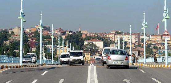 Eski Galata Köprüsü trafiğe kapatıldı