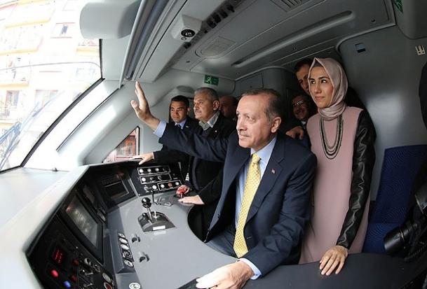 Eskişehir-Konya YHT seferi başladı