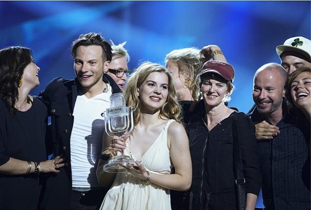 Eurovision'da birinci Danimarka