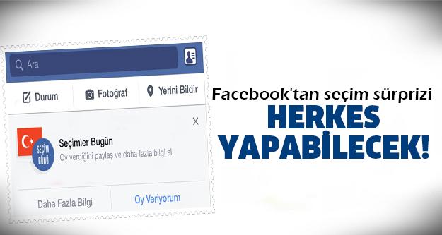 Facebook'ta oy kullanılabilecek!