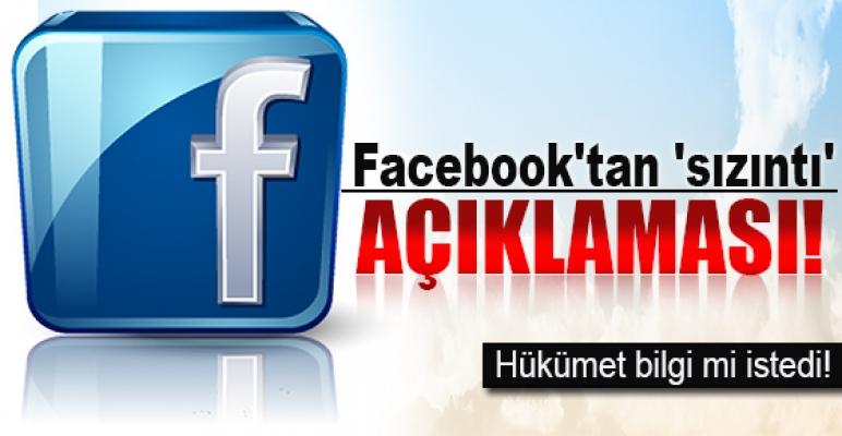 Facebook'tan 'sızıntı' açıklaması!